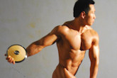 Bodybuilder Wang Hua - Physique Portraits